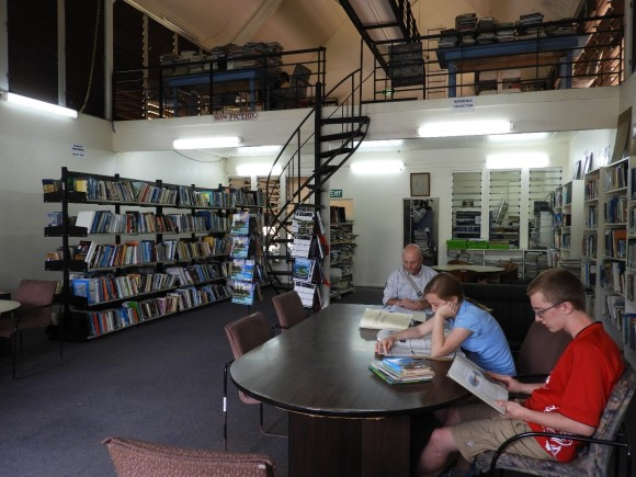Cook Islands National Library interior2