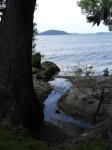 Lake Rotorua with Mokoia Island in the distance