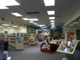 Children's, adult fiction, toy library - The Hub Library