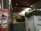 School entrance - Seaford Library