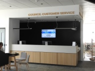Council customer service desk - Aldinga Library