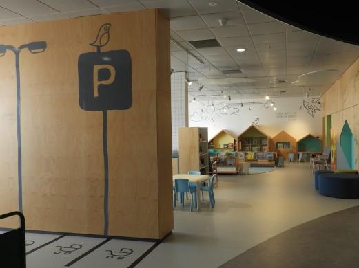Children's area with pram parking! - Aldinga Library