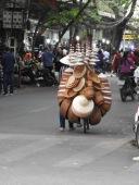 hats, baskets, on a bike!