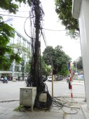 a tangle of wires