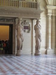 column statues