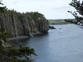 view of the cliffs